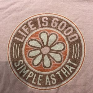 Life Is Good Womens L simple as that shirt